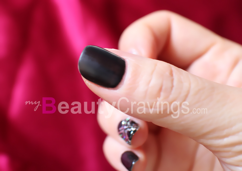 Under-cured nail
