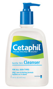 Cetaphil Cleanser with VI Precision Peel