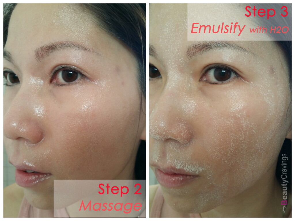 Shu Uemura Cleansing Oil - Step 2 and 3