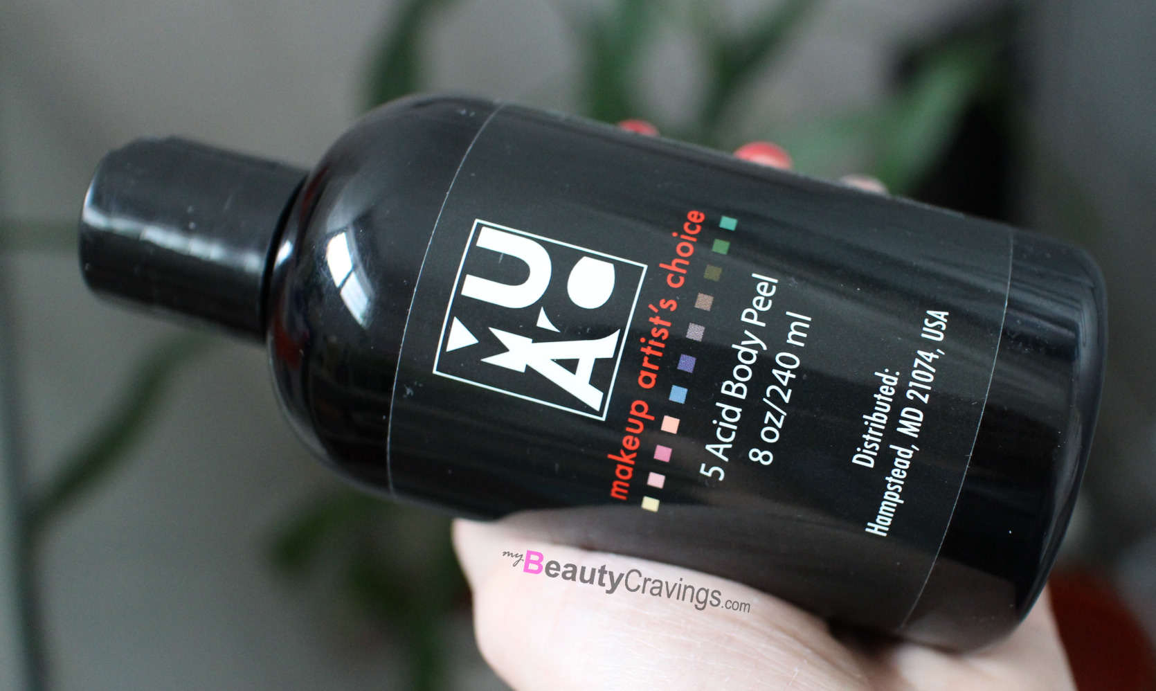 5 Acid Body Peel from MUAC