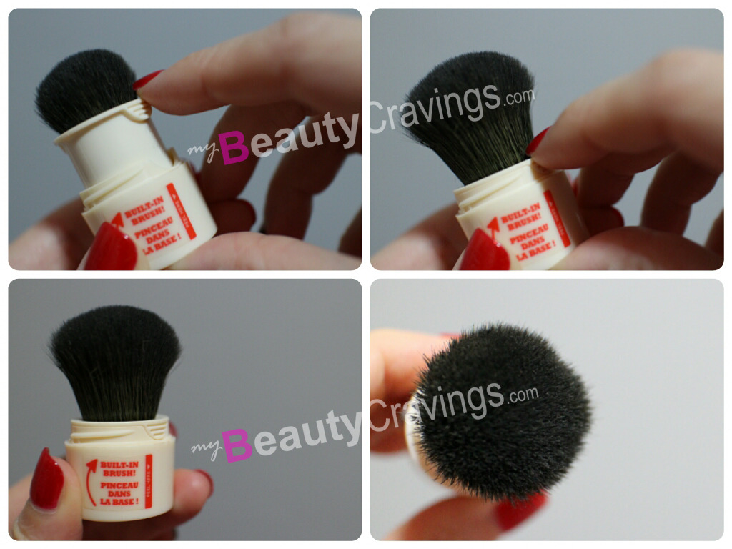 Step 4 - Slide down to reveal brush (Benefit POREfessional Agent Zero Shine)