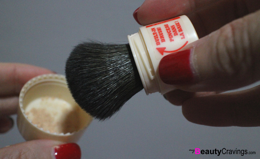 Step 6 - Pick up some powder (Benefit POREfessional Agent Zero Shine)