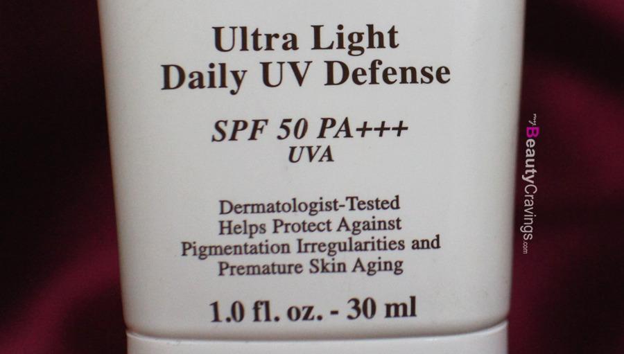 High UVA & UVB protection (Kiehl's Ultra Light Daily UV Defense)
