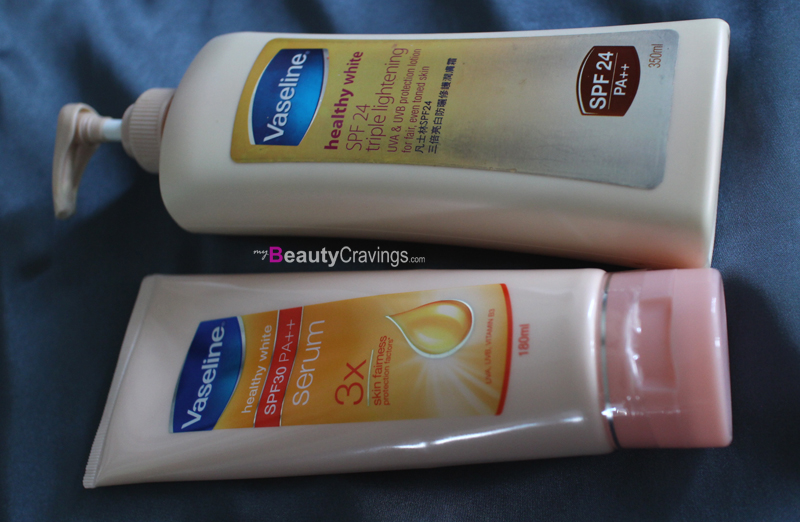 Vaseline Healthy White SPF24 vs SPF30