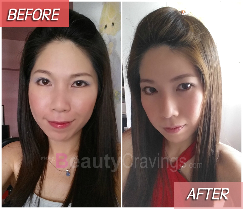Before-After (L'oreal Excellence Fashion)