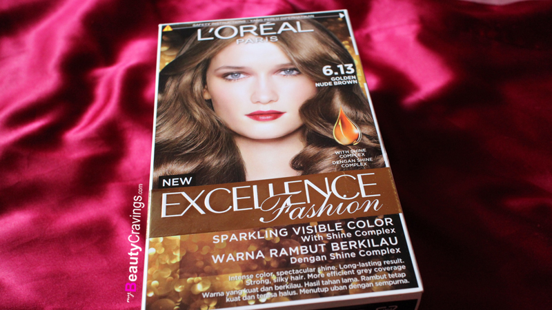 L'oreal Excellence Fashion (6.13 - Golden Nude Brown)