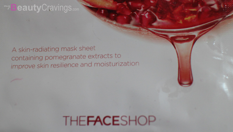 THEFACESHOP Real Nature Pomegranate Mask