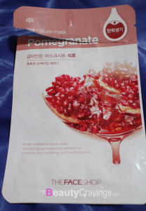 THE FACE SHOP Real Nature Pomegranate Mask
