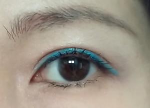 Bourjois Metallic Eyeliner (No 54 Bleu Clinquant)