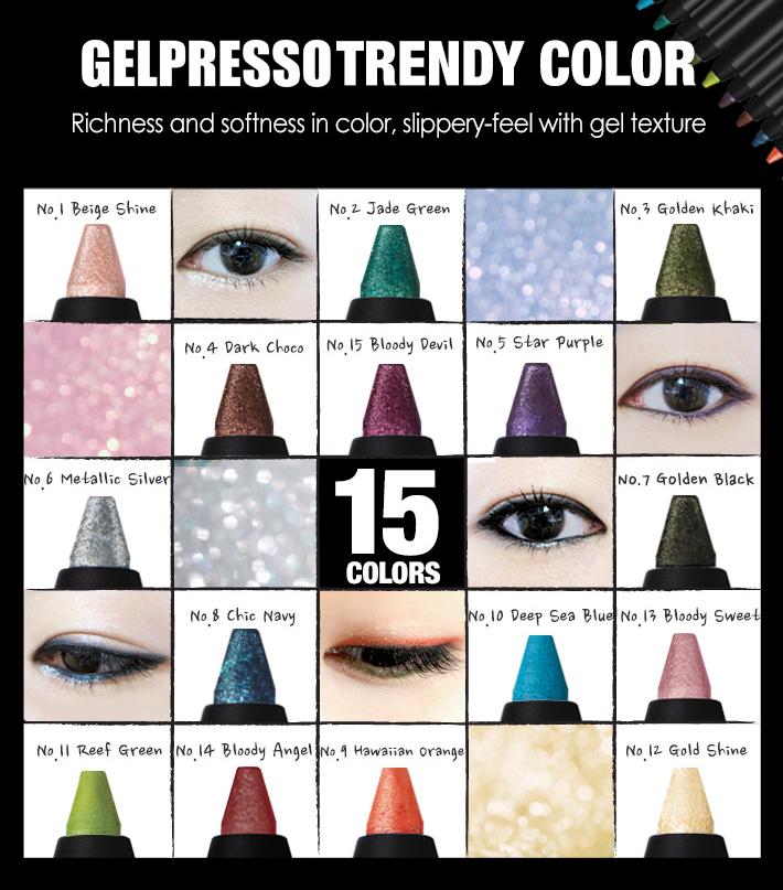 Clio Gelpresso Eyeliner