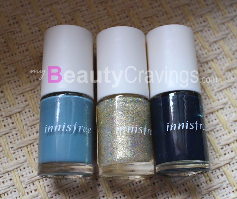Innisfree Eco Nail Color in #18, #71, #41