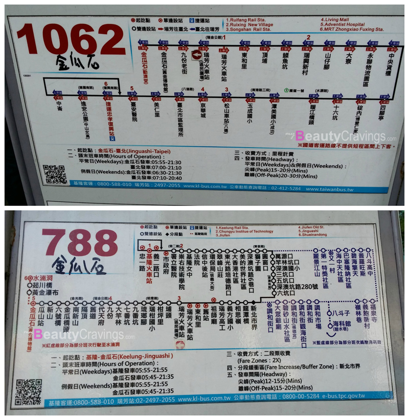 Buses to Jinguashi
