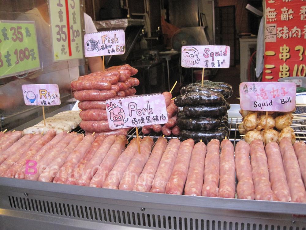 Jiufen - Sausage