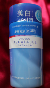 Shiseido Aqualabel White up Emulsion
