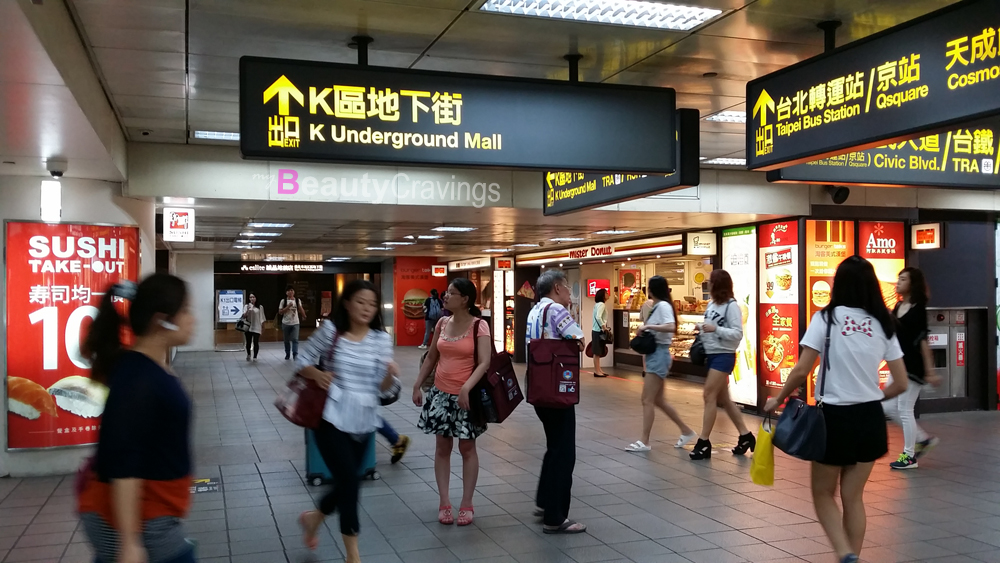 Taipei K Underground Mall