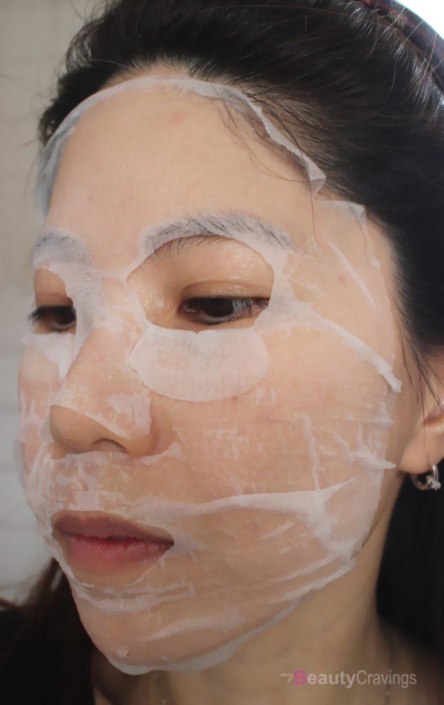 L'Herboflore Hyaluronic Acid Biocellulose Mask