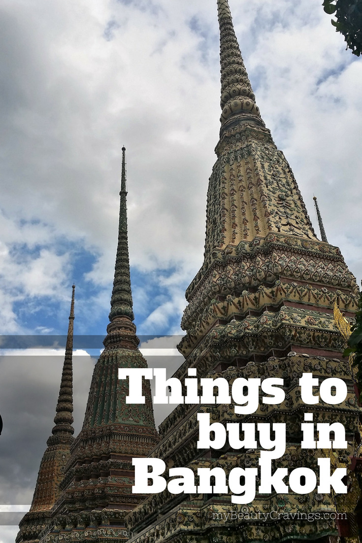 Things to buy from Bangkok