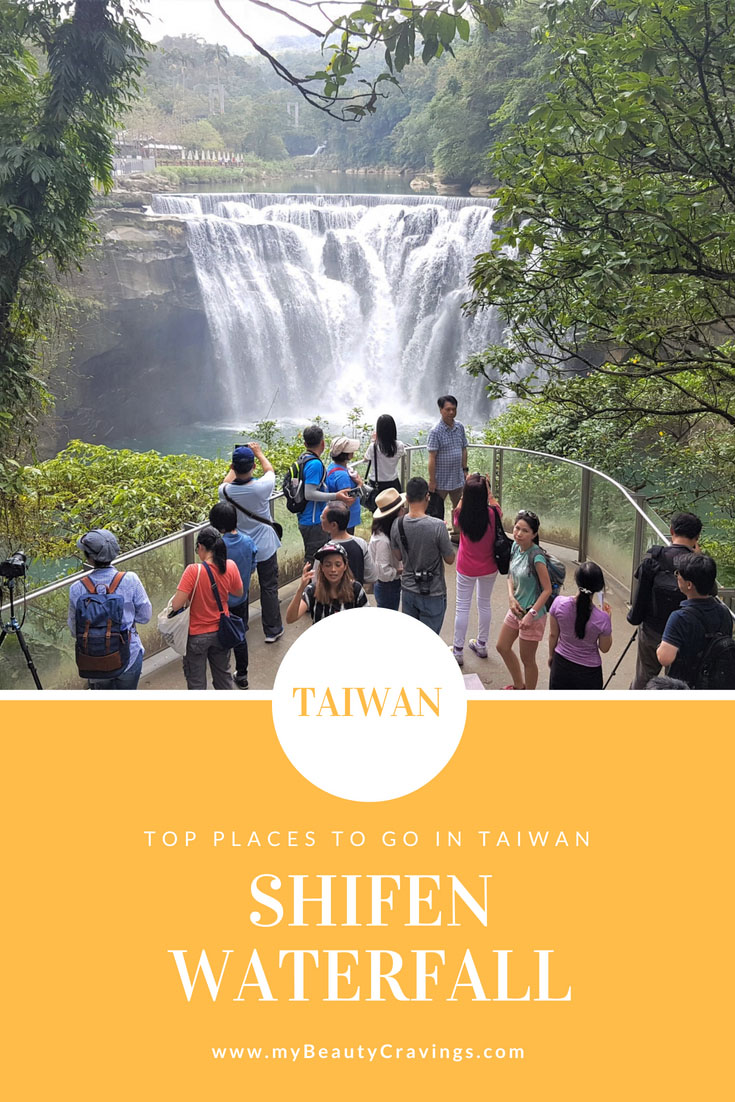 Shifen Waterfall Pin