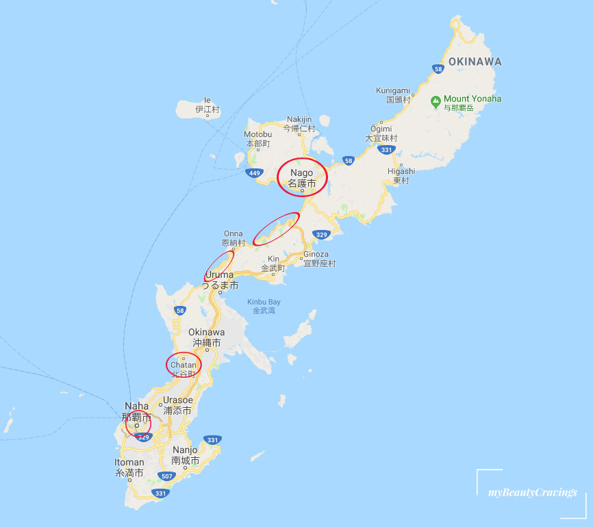 Where to stay in Okinawa
