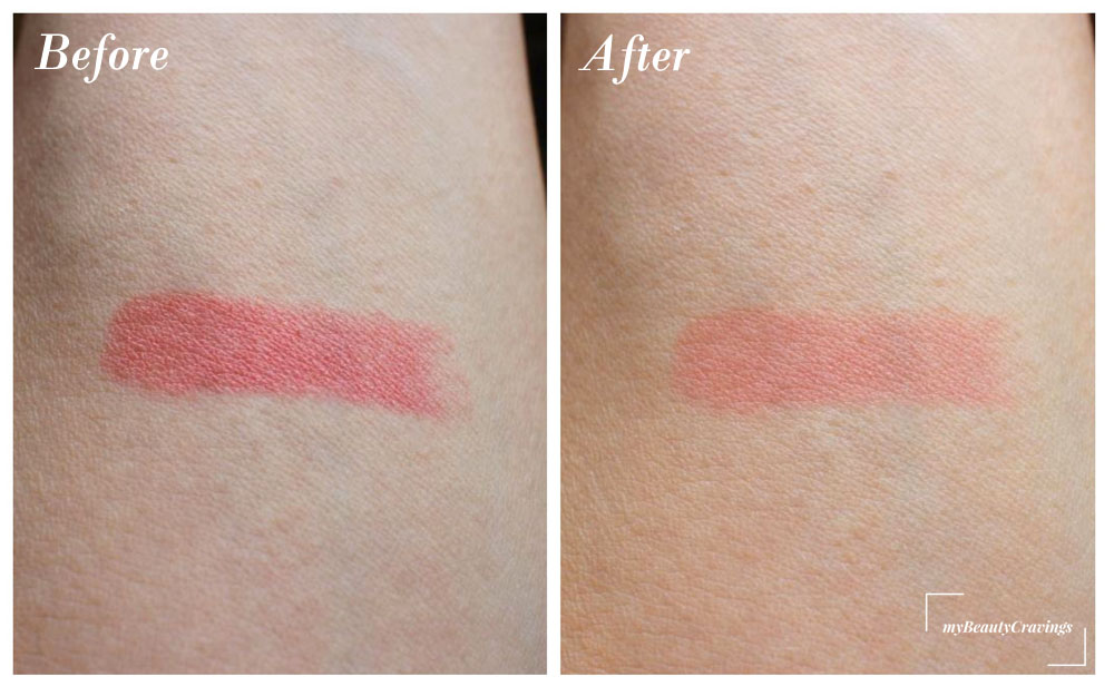 Chifure Lipstick S Before-After