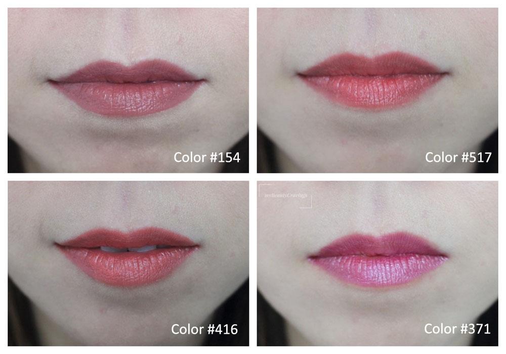Chifure Lipstick S Swatches
