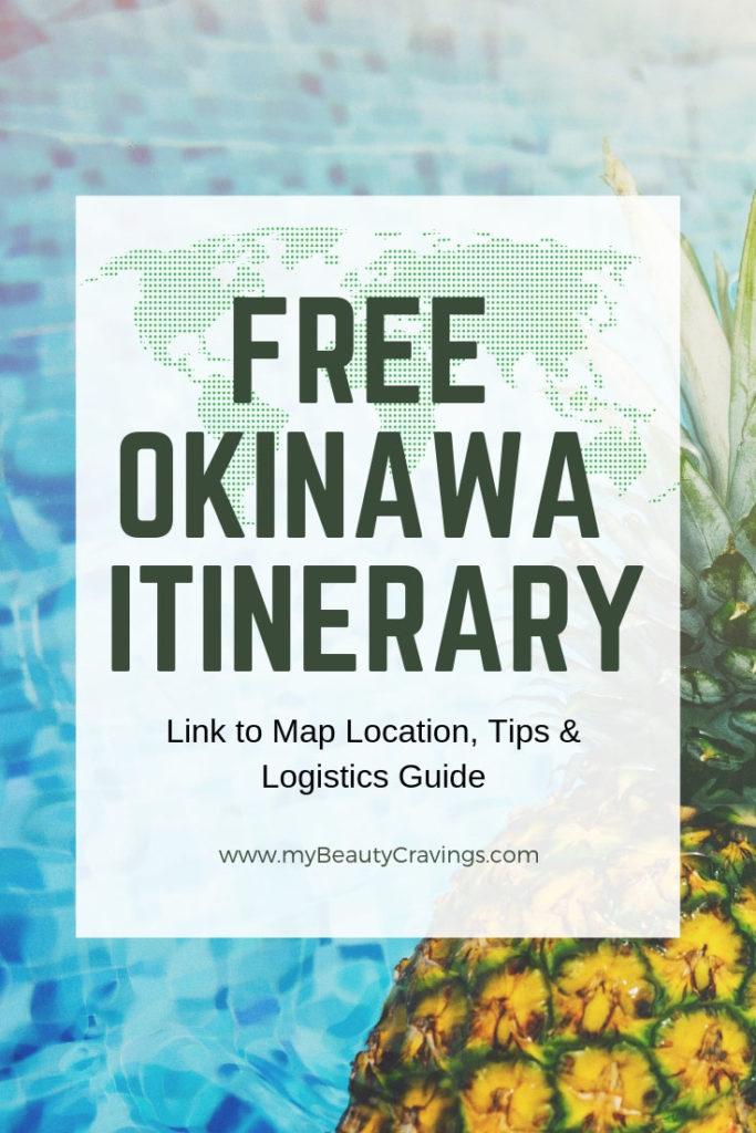 FREE OKINAWA ITINERARY