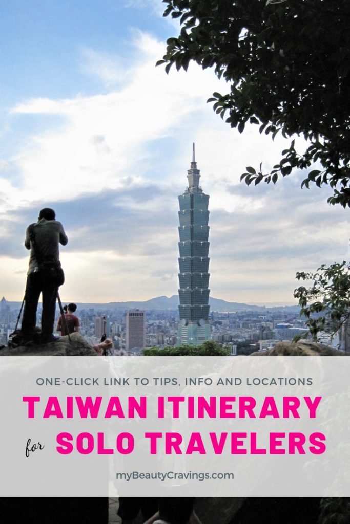 Taiwan Itinerary for Solo Traveler