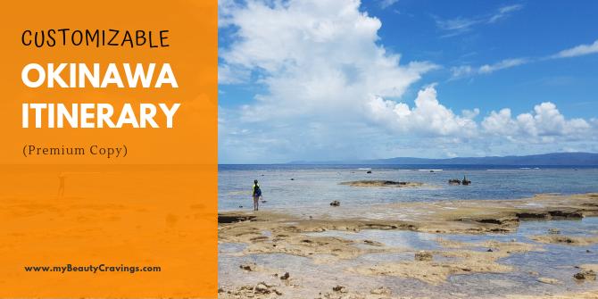 Okinawa Itinerary Premium