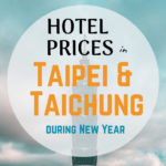 Taiwan Hotel Price New Year Period - horizontal