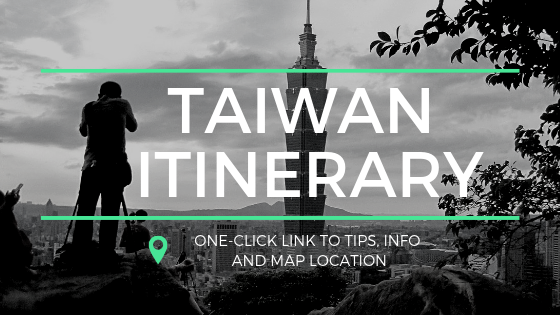 Taiwan Itinerary Banner (Side Bar)