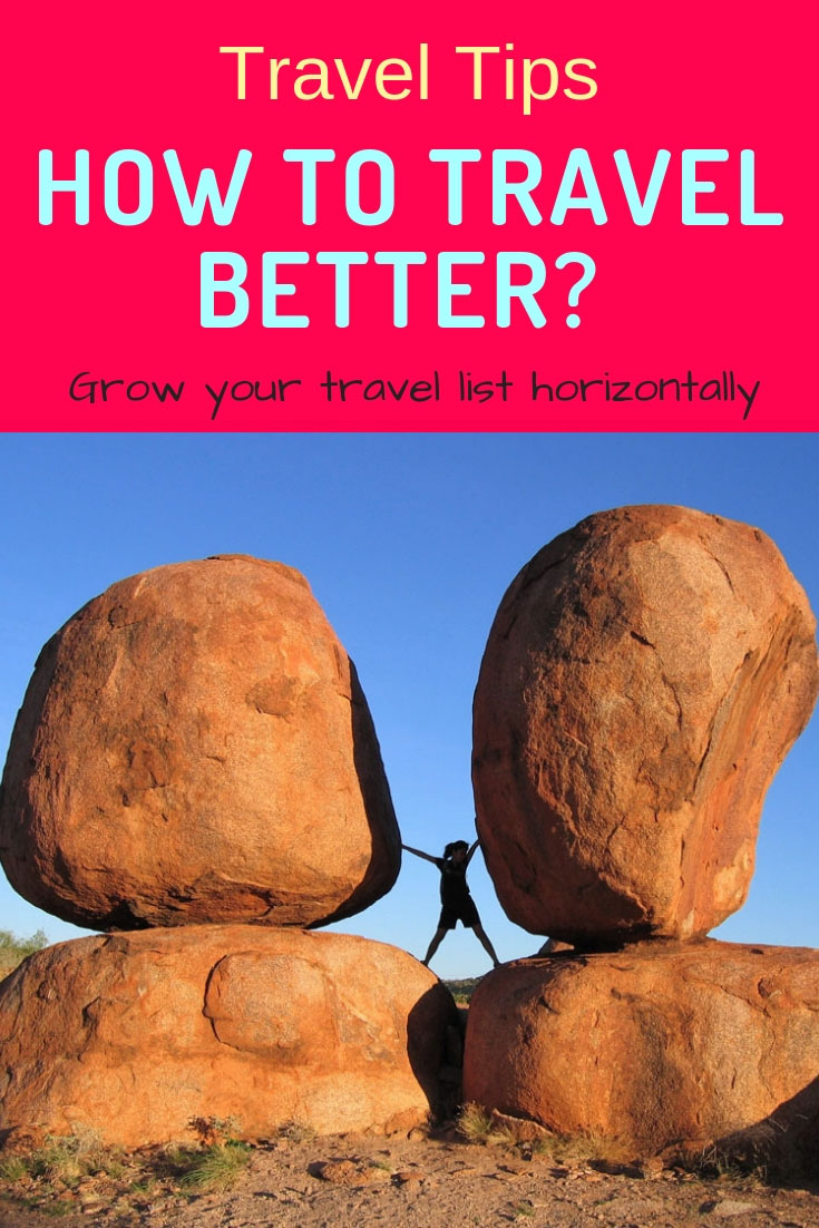 Travel Horizontally