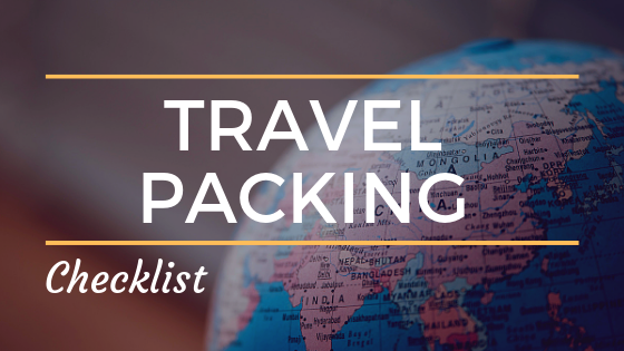 Travel Packing Banner (Side Bar)