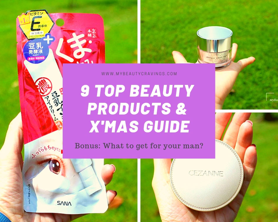 9 Top Beauty Products & X'mas Guide