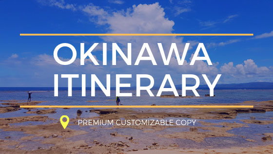 Okinawa Itinerary Banner (Side Bar)
