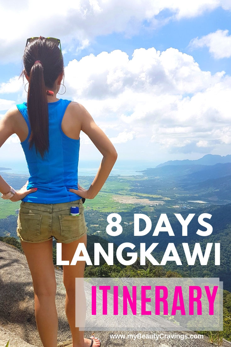 8D Langkawi Itinerary