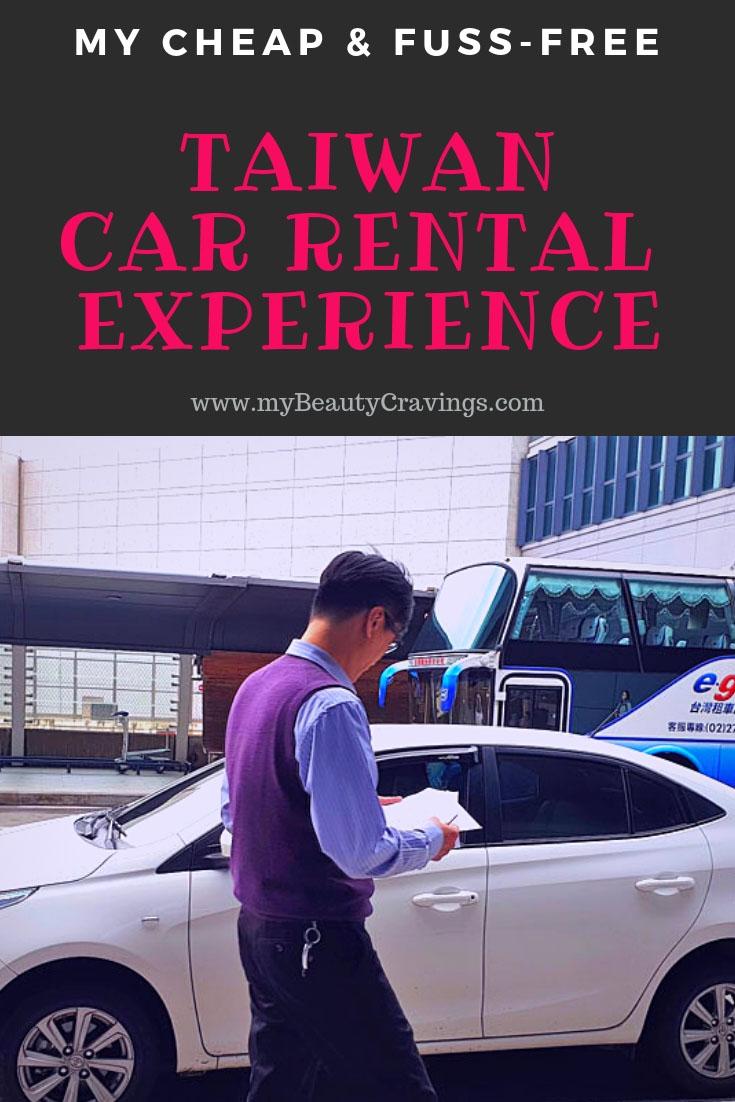 Taiwan Car Rental Experience