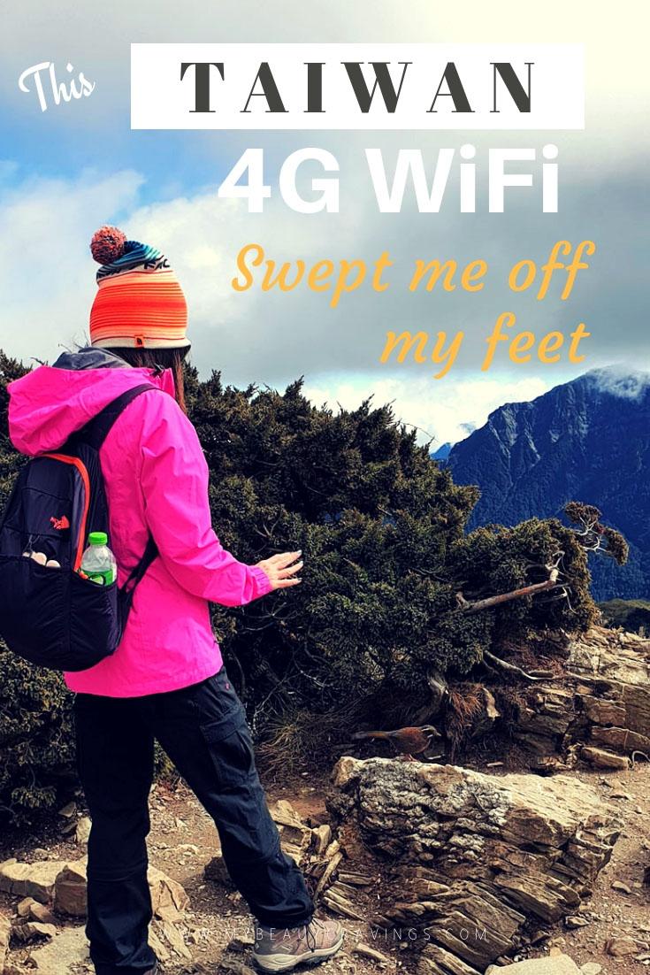 Taiwan 4G Pocket WiFi