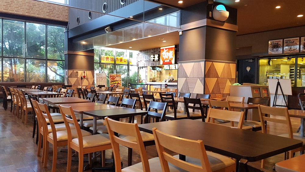 Aeon Oroku Naha Foodcourt