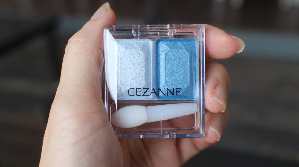 Cezanne Two Color Eye Shadow