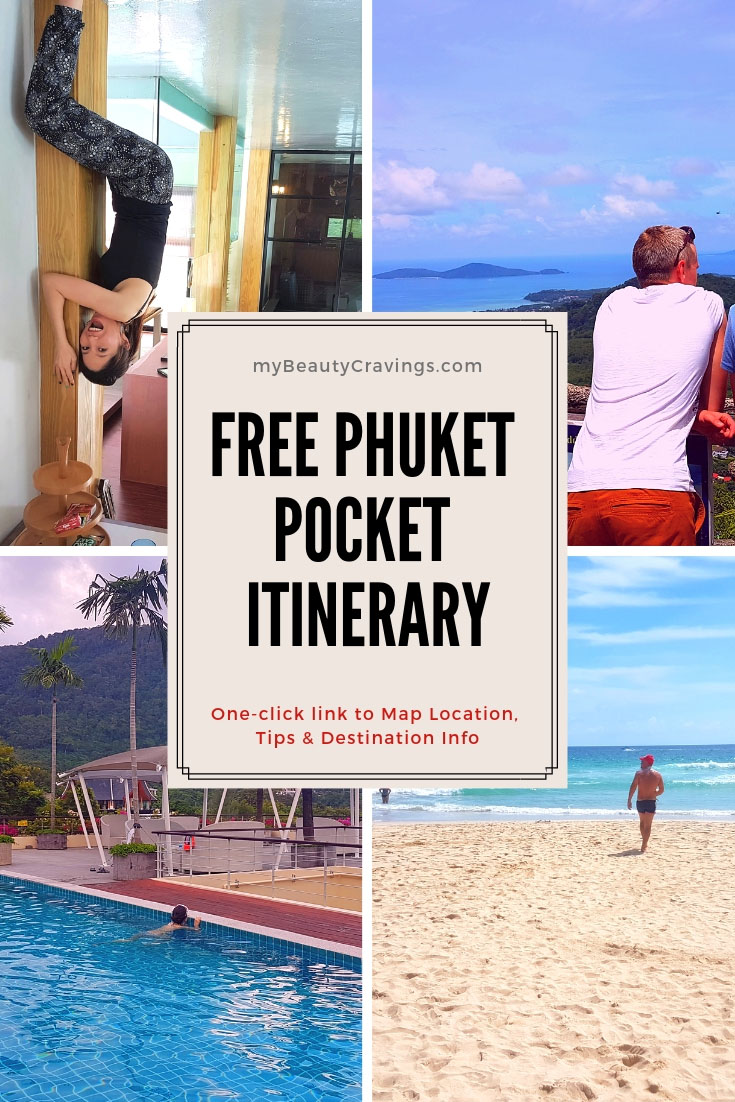 Phuket Pocket Itinerary PIN (S)