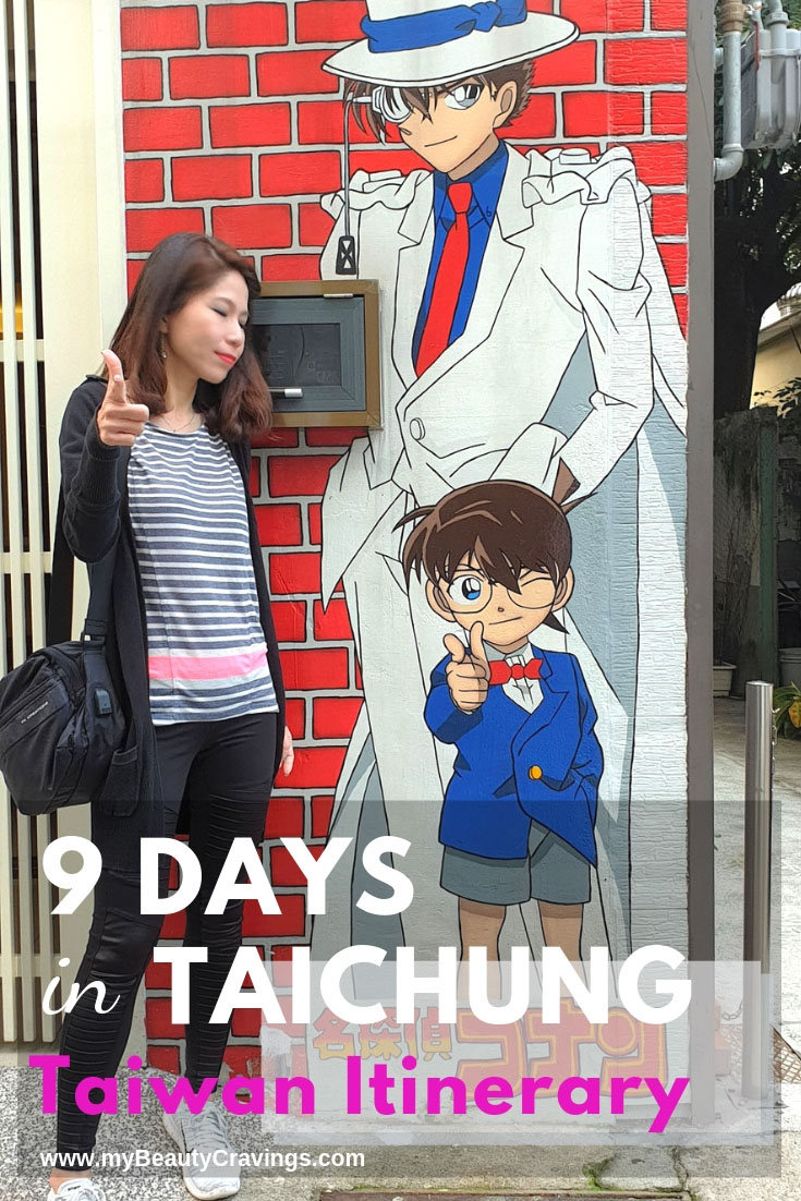 9D Taichung Itinerary Part 2 - PIN