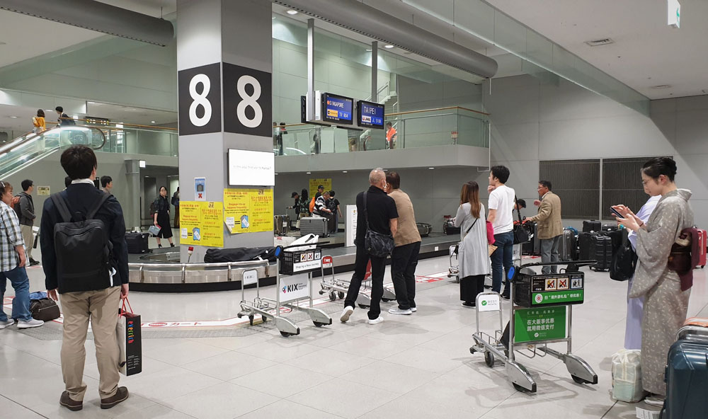 Scoot Baggage Claim Osaka