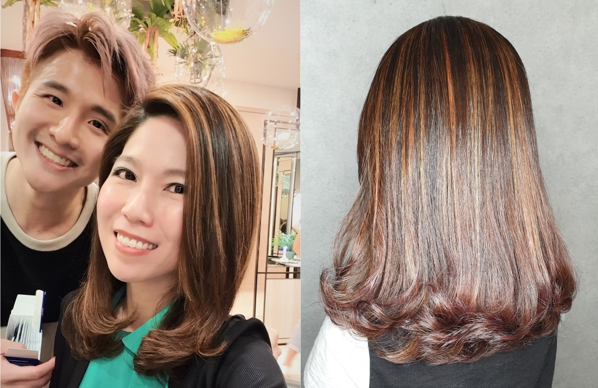 Kimage Hair Colouring by Thomas
