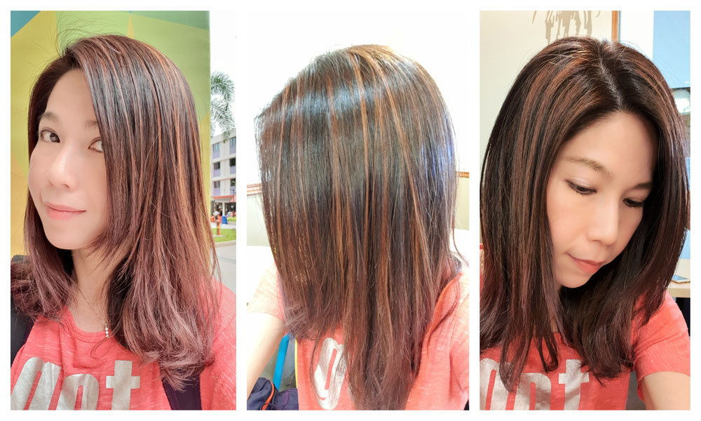 Kimage Hair Colouring Collage