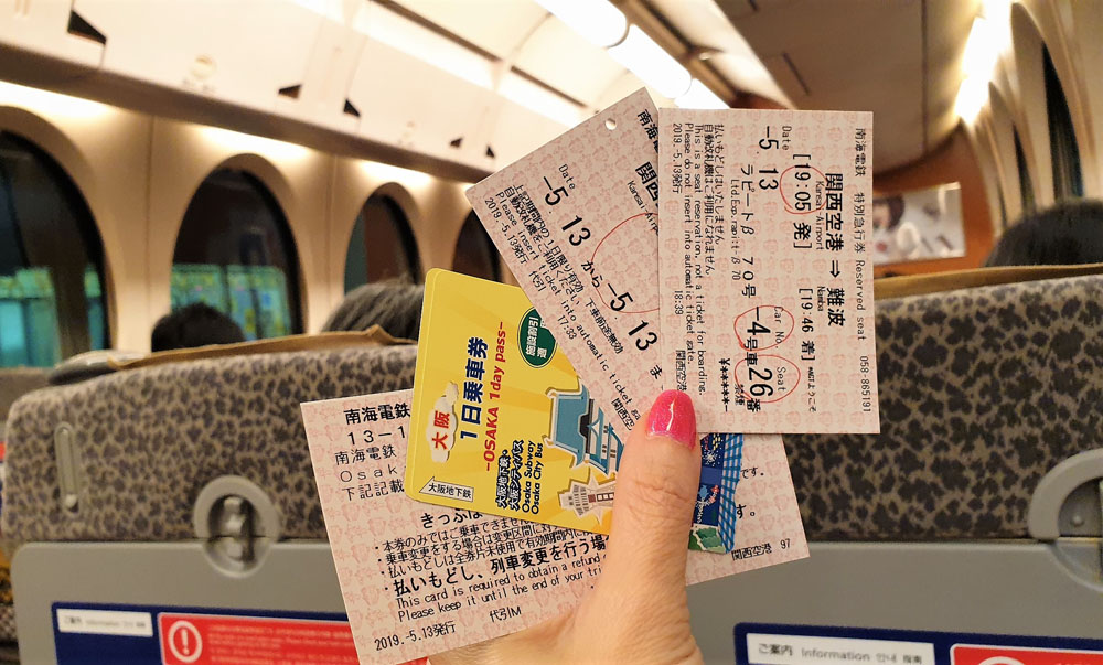 Osaka Transport Passes