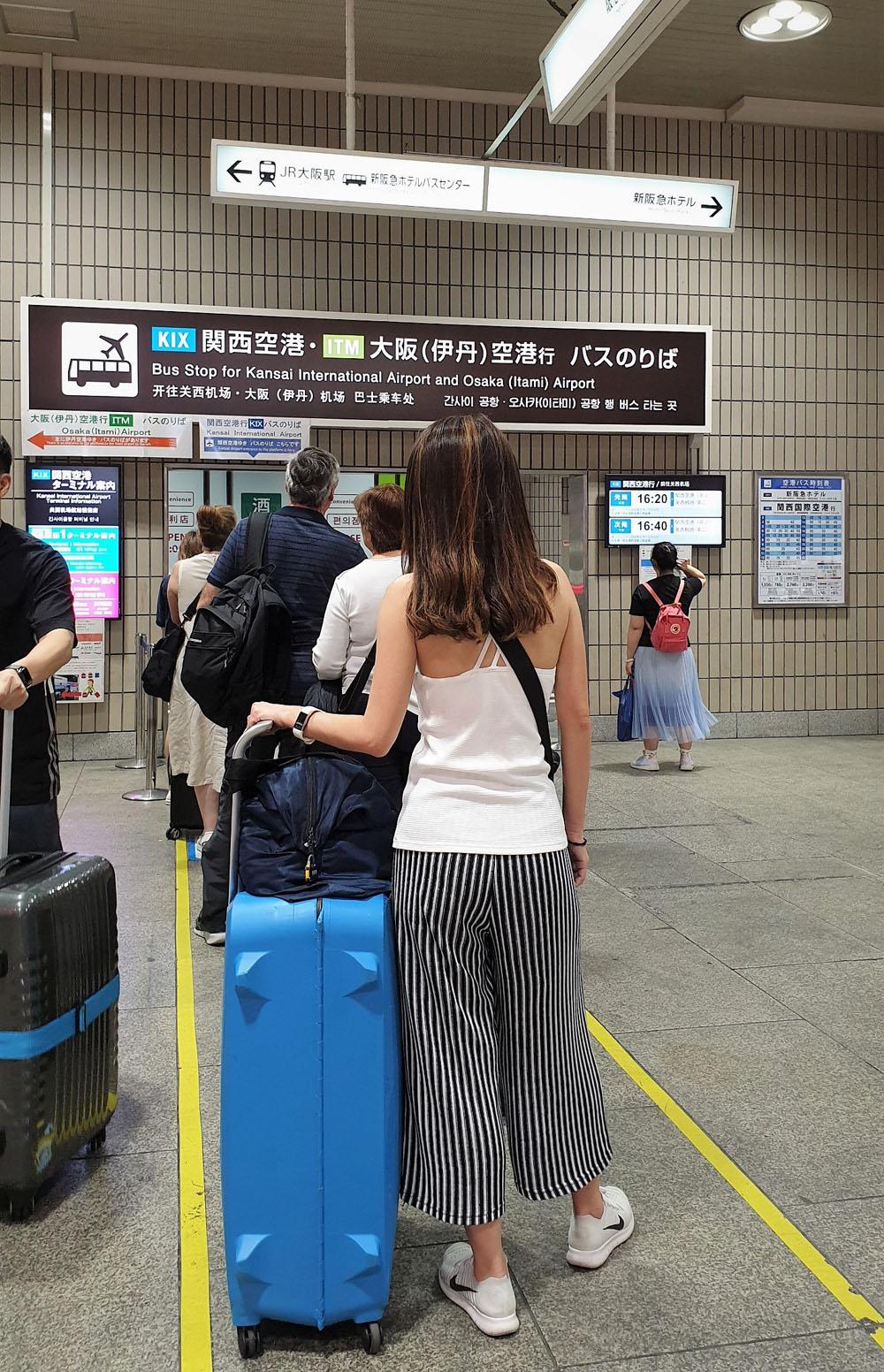 Osaka Station Limousine Bus Stop