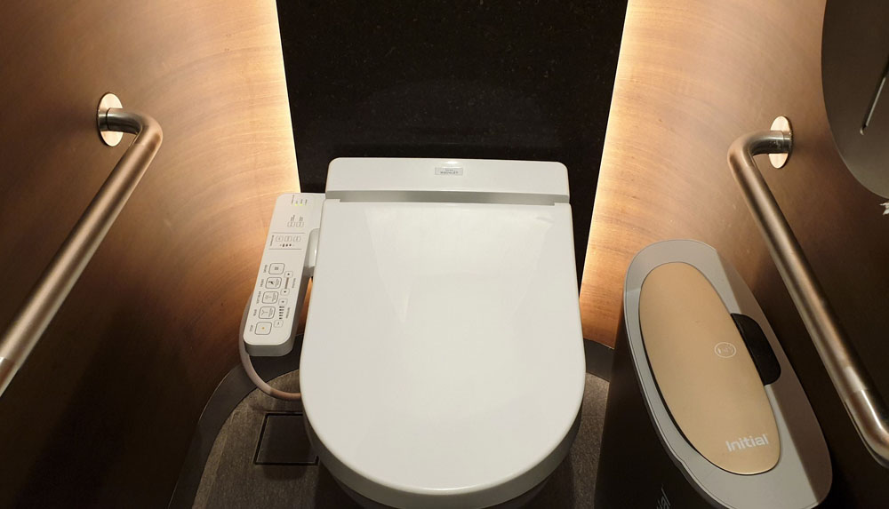 Jewel Changi Airport Toilet