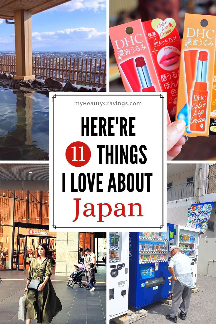 Things I love about Japan