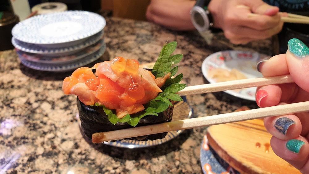 Good sushi - Osaka trip