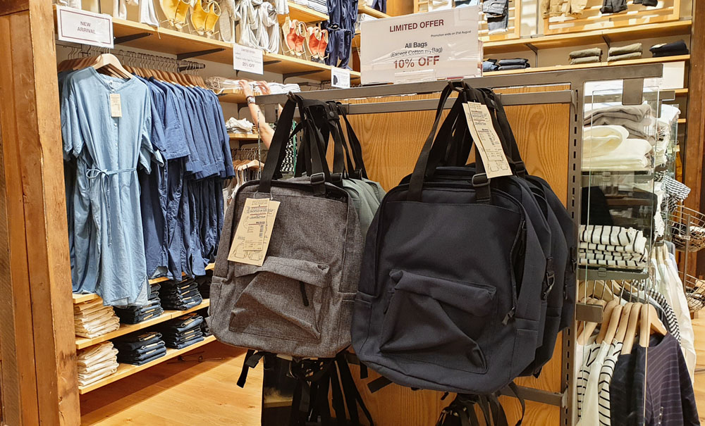 Muji Backpacks